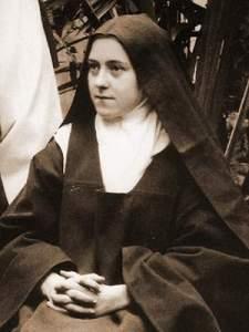 Thérèse looking pensive