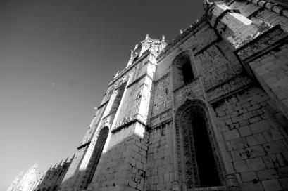 Jerónimos Monastery in Lisbon, Portugal