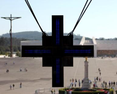 At the Basilica in Lourdes