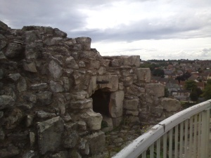 The castle had a bread oven. On the roof. As you do...